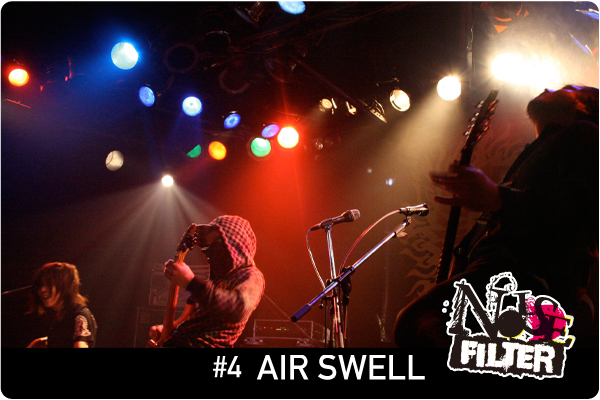 NOISE FILTER:#4 AIR SWELL