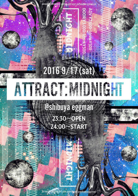 ▶▷ ATTRACT:MIDNIGHT ◁◀︎
