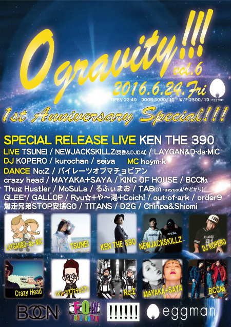 0gravity!!! 1st Anniversary Special!!!