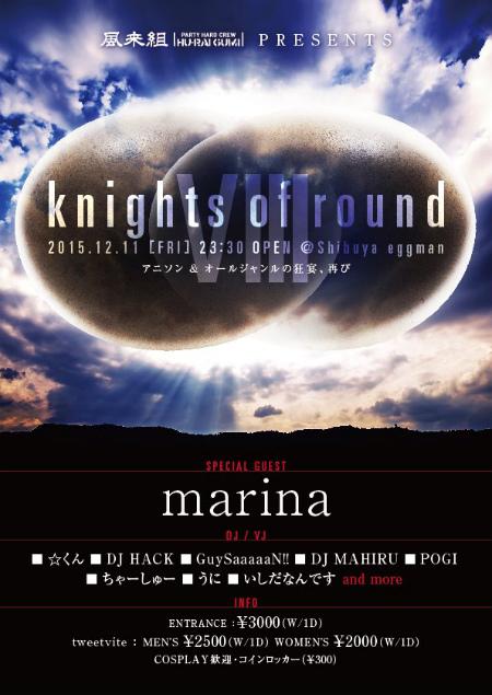 風来組pre. knights of round VIII