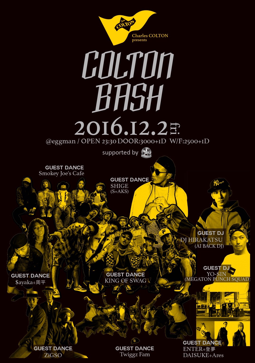 Charles COLTON presents<br>『COLTON BASH』<br> supported by GER