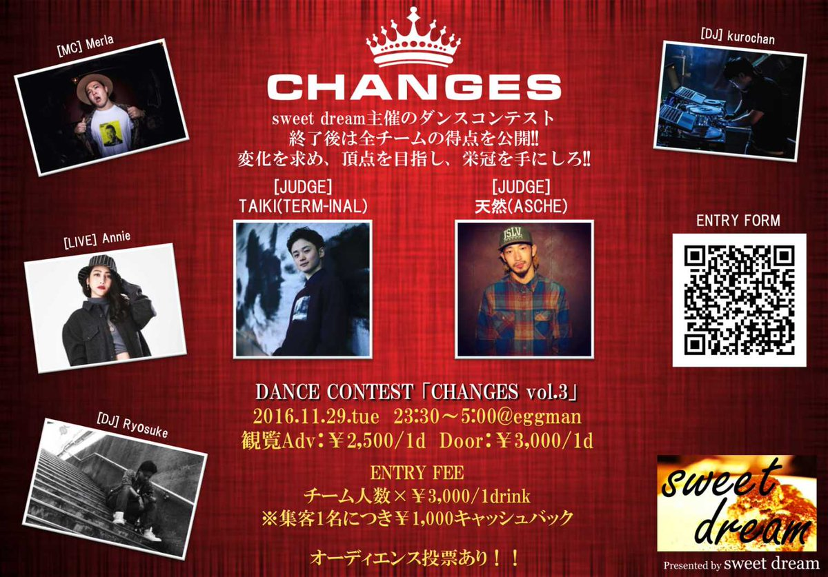 Underground Dance Contest 「CHANGES vol.3」