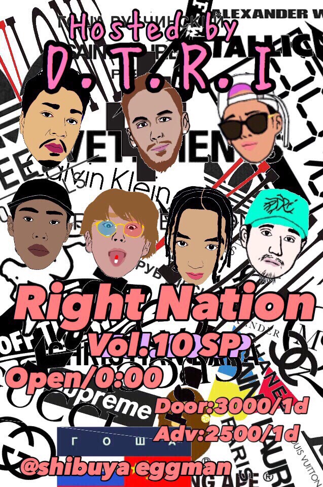 D.T.R.I Presents<br>Right Nation 10th Special 🎉
