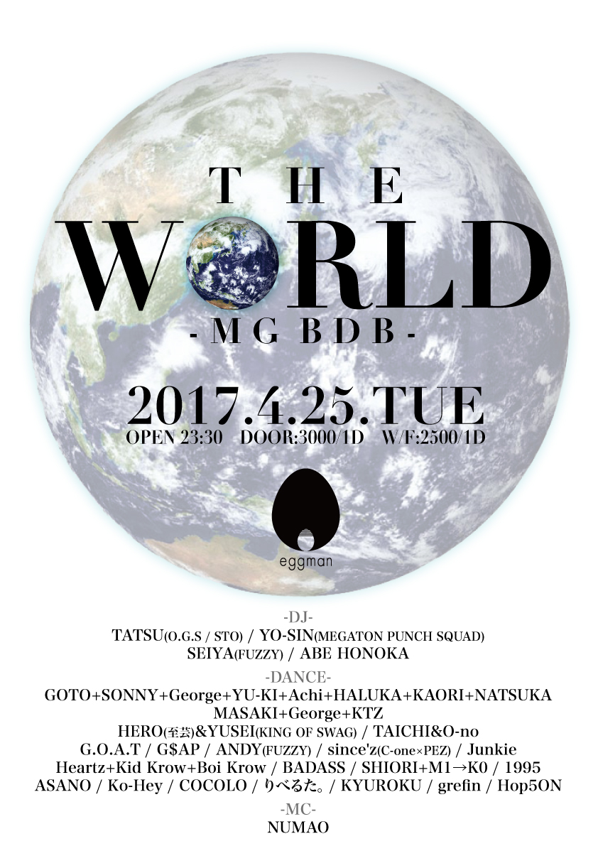 THE WORLD -MG BDB-
