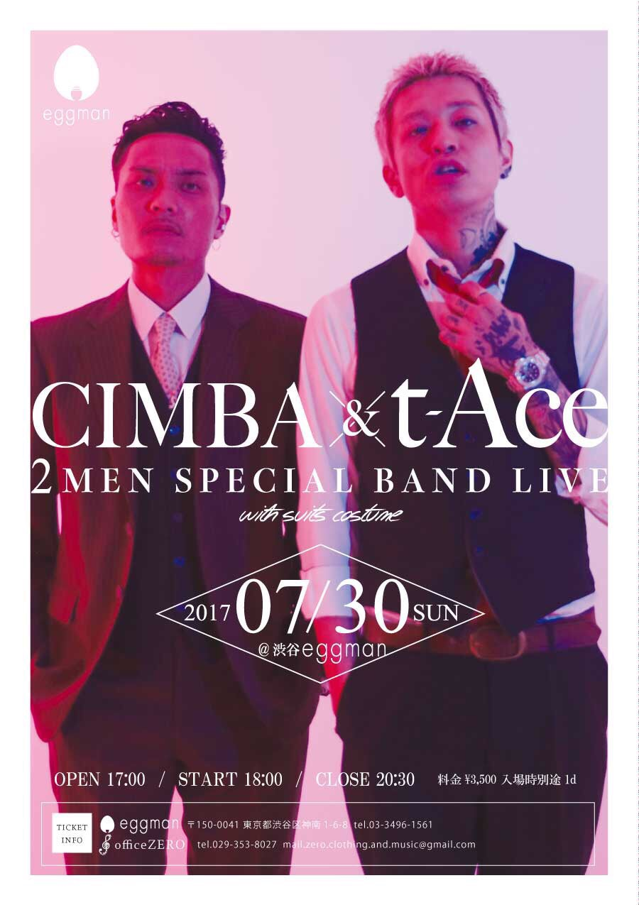 【t-Ace & CIMBA 2 Men Special Band Live】