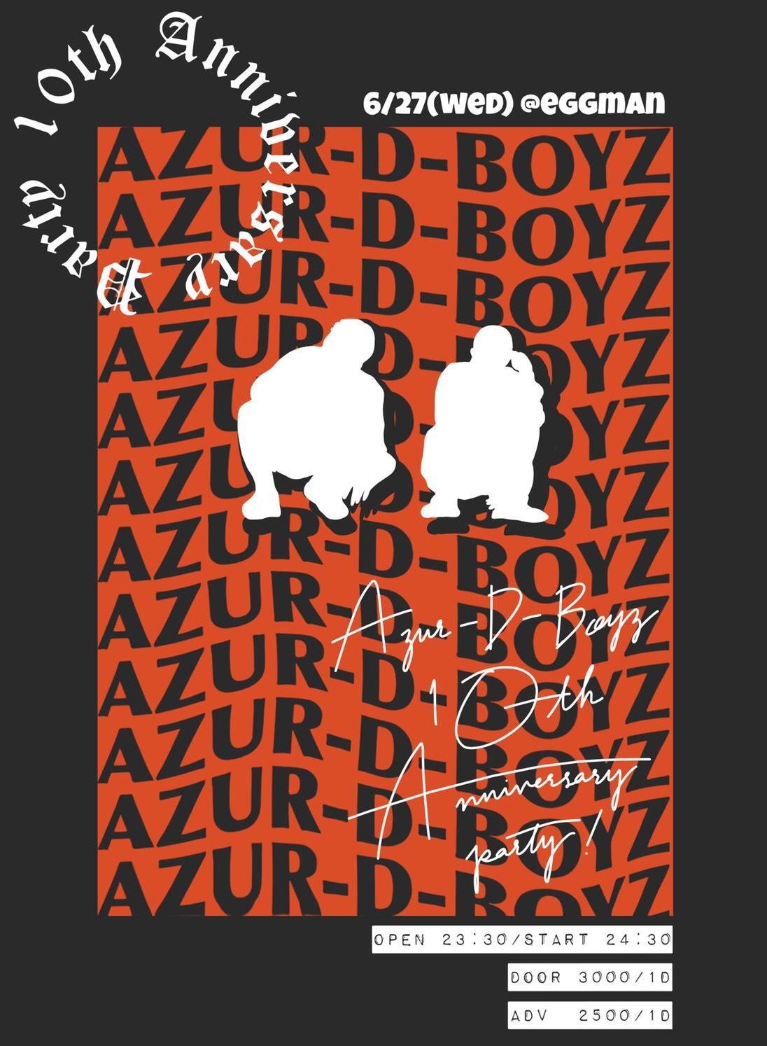 AZUR-D-BOYZ 10th Anniversary Party
