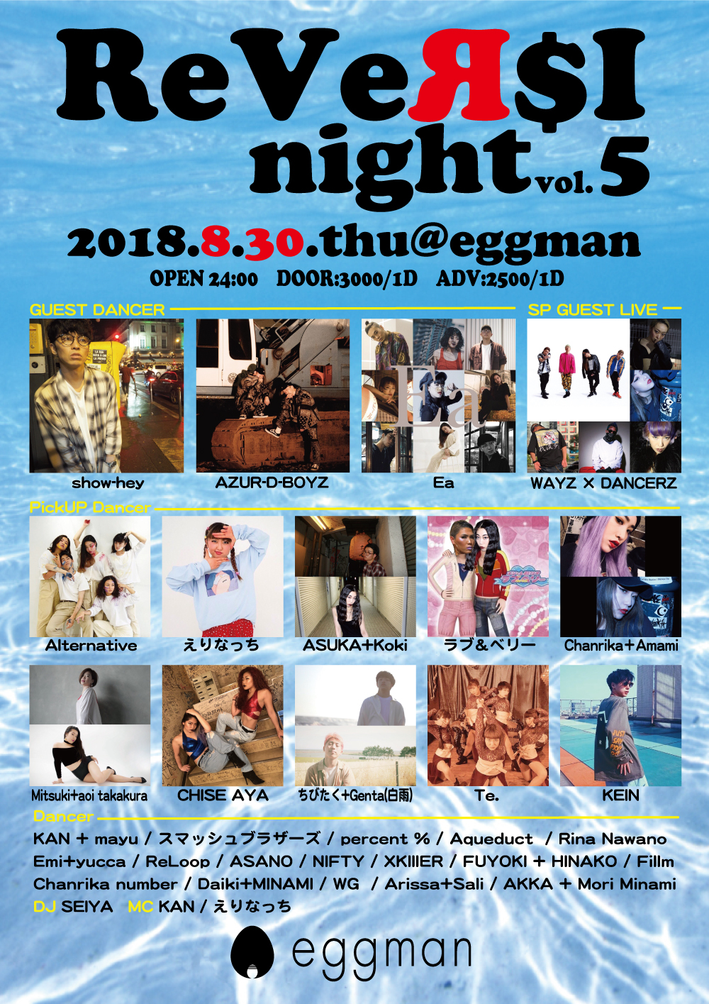 ReVeR$I night vol.5