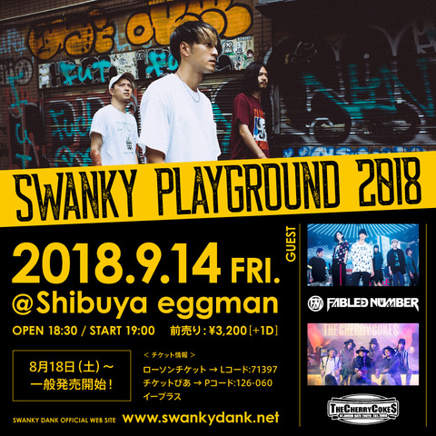 SWANKY PLAYGROUND 2018