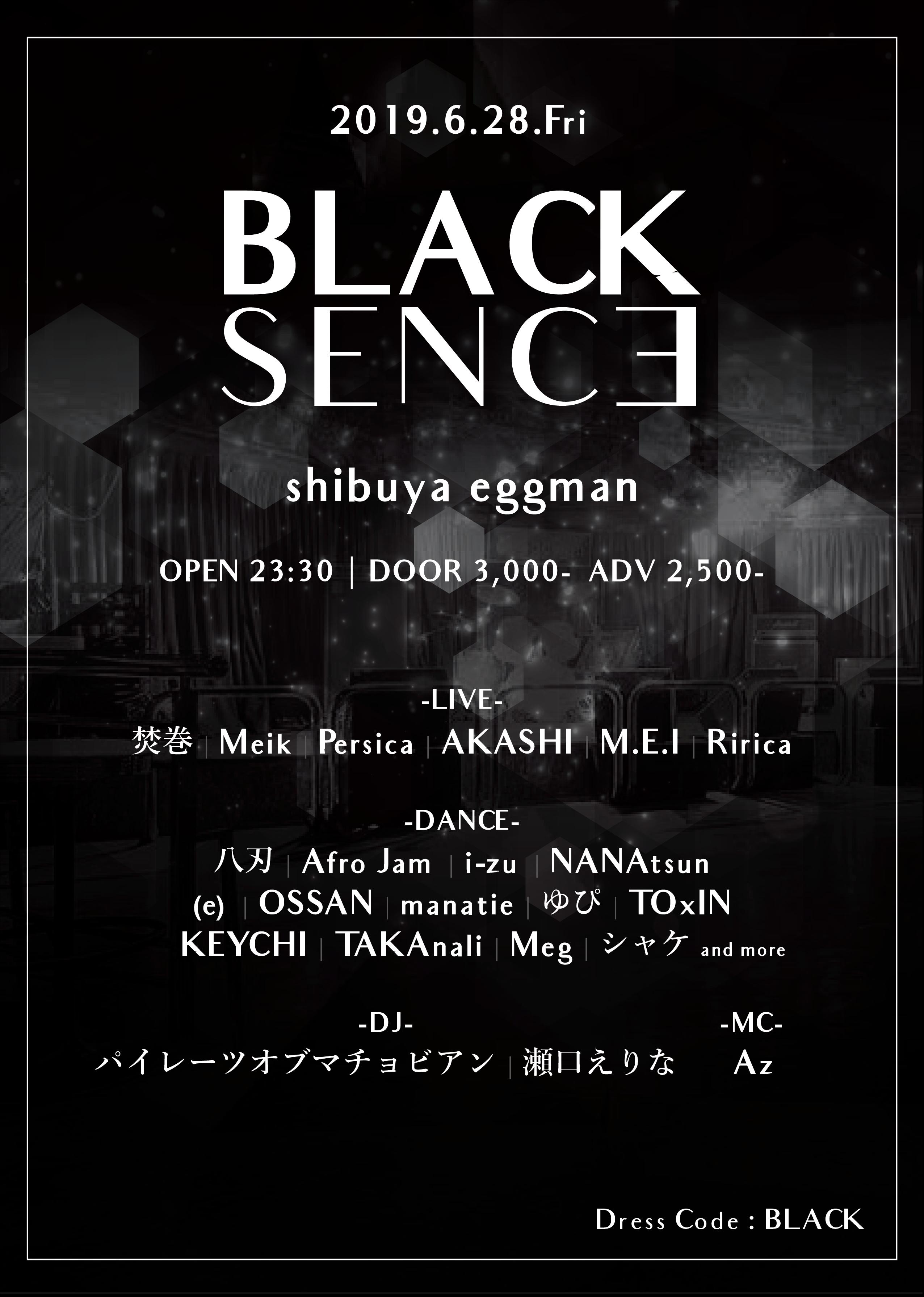 BLACK SENCE
