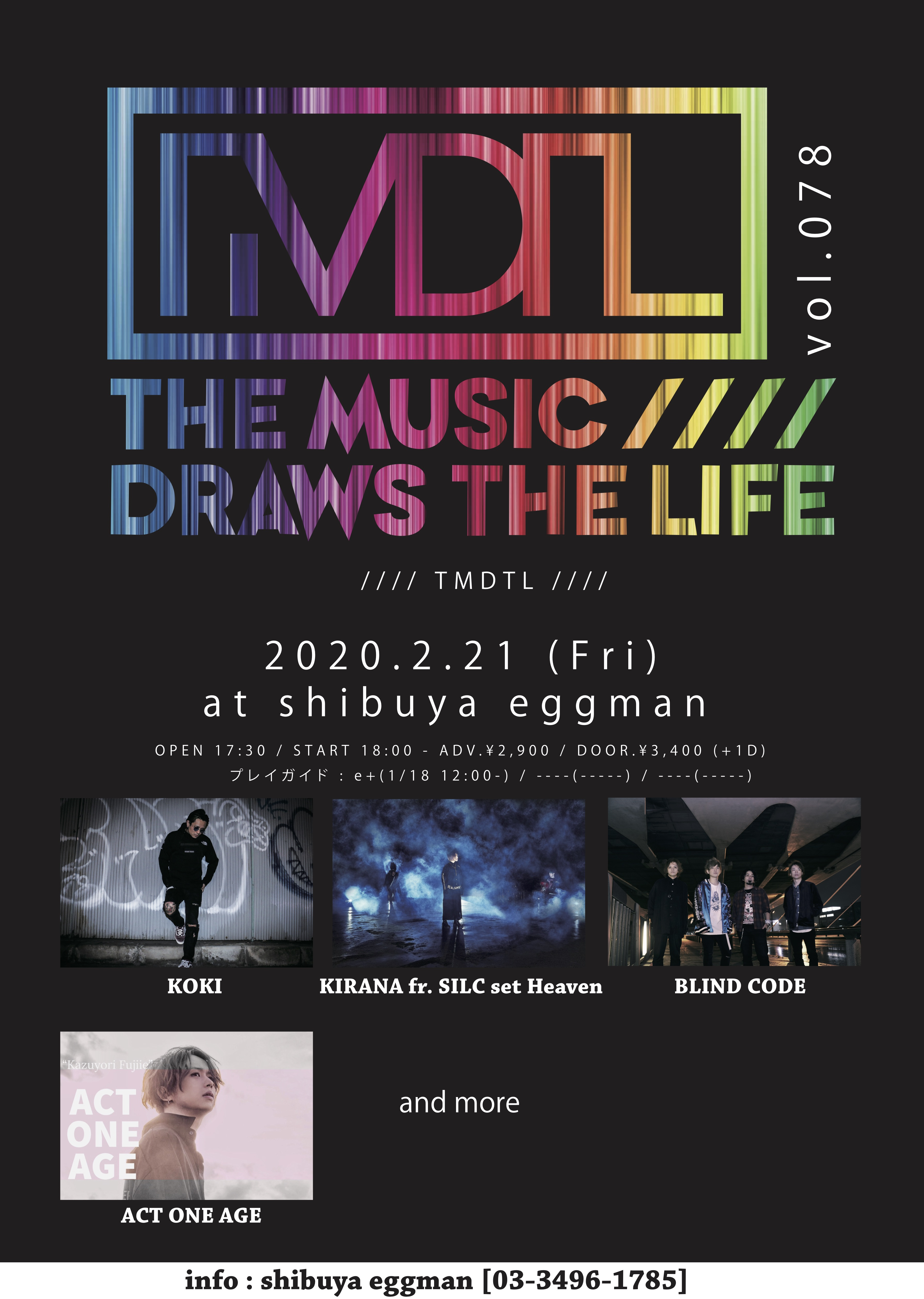 The Music Draws The Life Vol.78