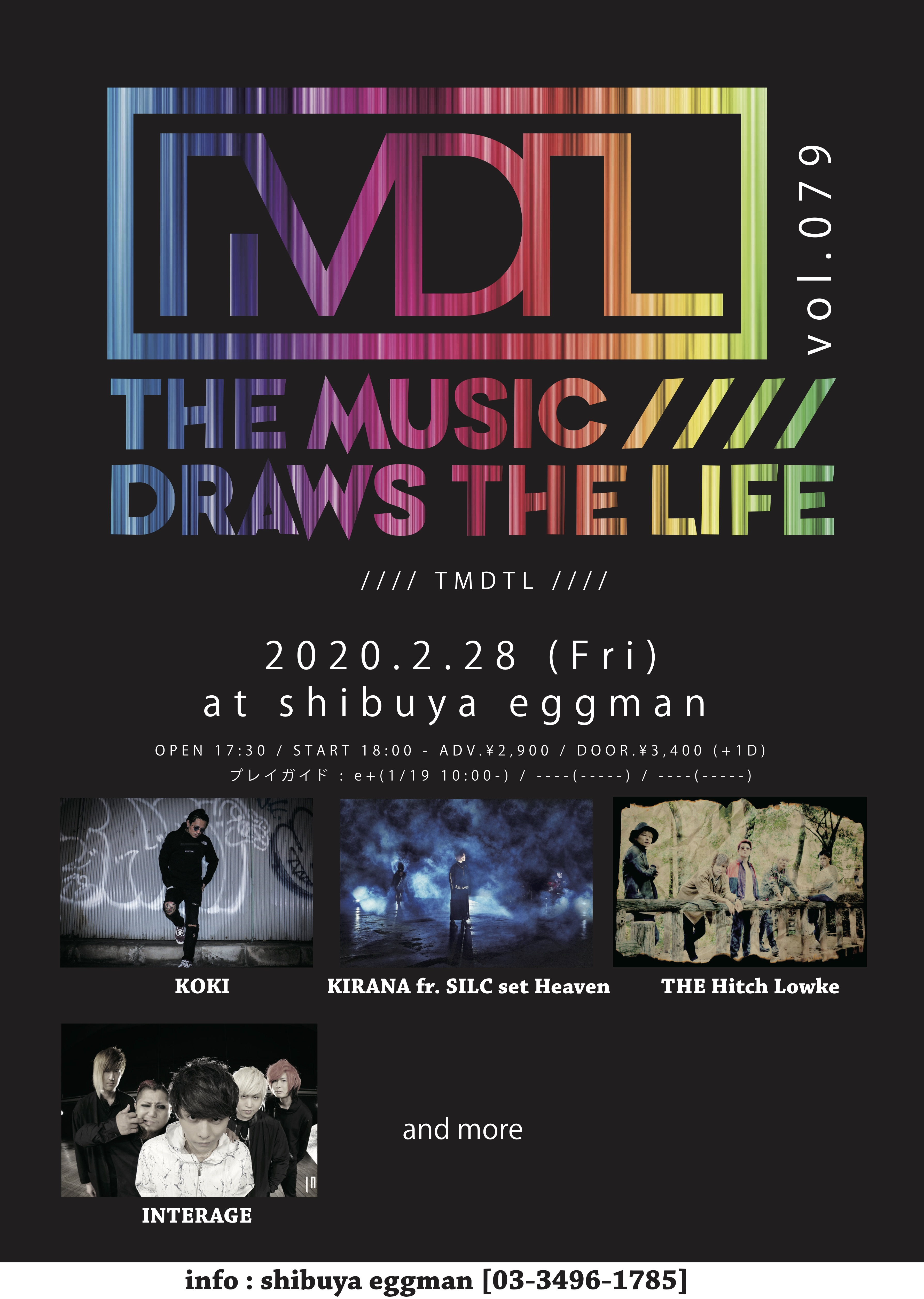 The Music Draws The Life Vol.79